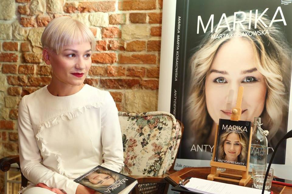 Spotkanie autorskie z Mariką, promocja książki Antydepresanty, czerwiec 2016, fot. Edipresse